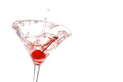 Splashing Martini Stock Images