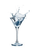 Splashing martini Royalty Free Stock Image