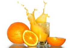 Splashing Orange Juice Royalty Free Stock Photo