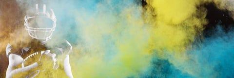 Composite image of splashing of powder stock images