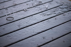 Splashing rain water droplets close up Stock Photo
