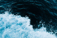 Splashing sea wave Stock Photos