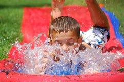 Splashing Slide Stock Photos