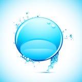 Splashing Speech Bubble Royalty Free Stock Photo