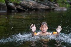 Splashing to keep cool Stock Photos