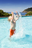 Splashing water Royalty Free Stock Photography
