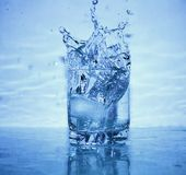 Splashing Water stock images