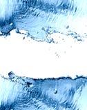 Splashing Water Frame Royalty Free Stock Image