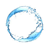 Splashing Water Ring Stock Photo
