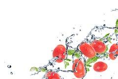 Splashing water Stock Image