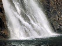 Splashing waterfall Stock Photo