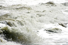 Splashing wave in Andalusia Spain Stock Photos