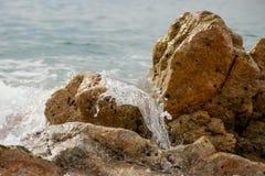 Splashing wave. Royalty Free Stock Images