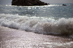 Splashing wave. Stock Image