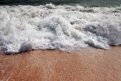 Splashing wave. Stock Photo