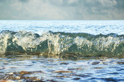 Splashing wave Royalty Free Stock Photography