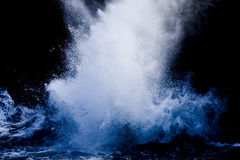 Splashing waves Stock Photos