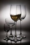 Splashing wine Stock Photos
