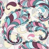 Splashy seamless pattern Royalty Free Stock Image