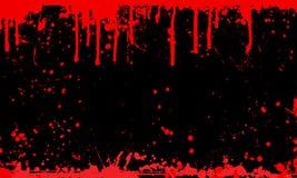 splat крови предпосылки иллюстрация вектора