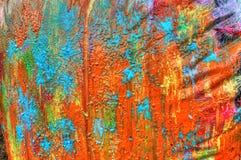 Splat пейнтбола Стоковые Изображения RF