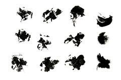splat чернил иллюстрация вектора