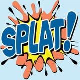 Splat Lizenzfreies Stockbild