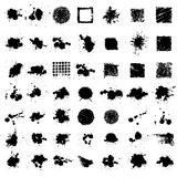 Splat de la tinta de Grunge Imagen de archivo
