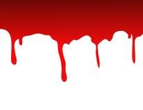 Splat de sang Images libres de droits