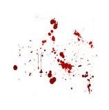 Splat do sangue ilustração do vetor