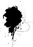 splat för 3 grunge Royaltyfria Bilder