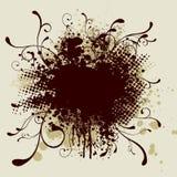 splat halftone круглое Стоковое Фото