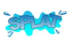 Splat Royalty Free Stock Photography