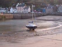 splatająca łódź Zdjęcie Royalty Free