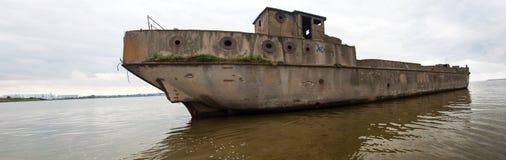 Splatający betonowy statek Zdjęcia Royalty Free