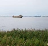 Splatający betonowy statek Fotografia Stock