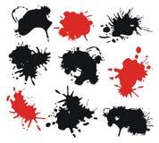 splats чернил Стоковые Изображения RF