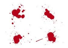 Splats do sangue Fotos de Stock