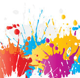 splats краски grunge Стоковое фото RF
