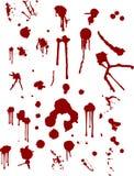 splats krwi Zdjęcie Royalty Free