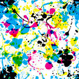 Splats pattern Royalty Free Stock Photos