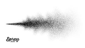 Splatter краски для пульверизатора Стоковое Изображение RF