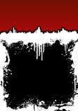 splatter чернил рамки городского пейзажа предпосылки Стоковая Фотография RF