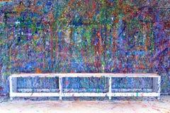 χρώμα splatter Στοκ φωτογραφίες με δικαίωμα ελεύθερης χρήσης