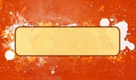 Splatter astratto della vernice di Grunge illustrazione di stock