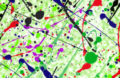 Splatter background. Colorful composition creative Stock Photos