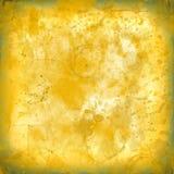 Splatter befläckte gammal pappers- bakgrund för orange sliten textur inget I arkivbilder