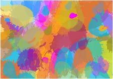Splatter color background Royalty Free Stock Image