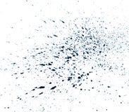 Splatter da aguarela Fotografia de Stock