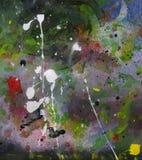 Splatter da arte abstrata Fotografia de Stock Royalty Free